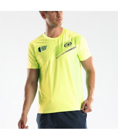 Bullpadel TEFILO Yellow shirt