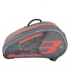 RACKET BAG BULLPADEL BPP-20002 MID CAPACITY GREY
