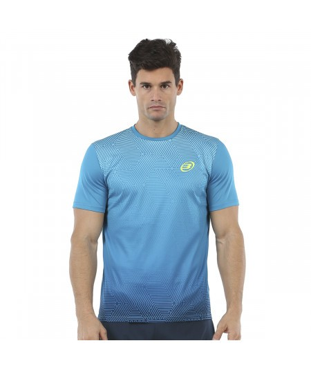 BULLPADEL CENEGUI BLUE T-SHIRT