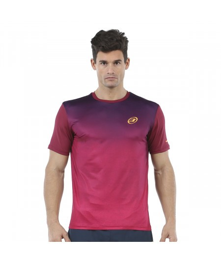 BULLPADEL ARAGUEL WINE T-SHIRT