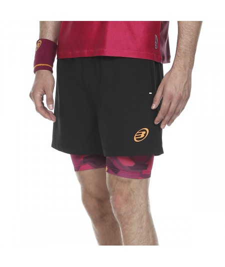 SHORT BULLPADEL ASTURI NEGRO