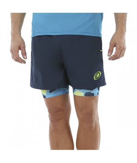SHORT BULLPADEL ASTURI AZUL...