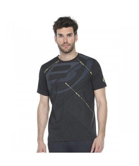 BULLPADEL RASEM BLACK T-SHIRT