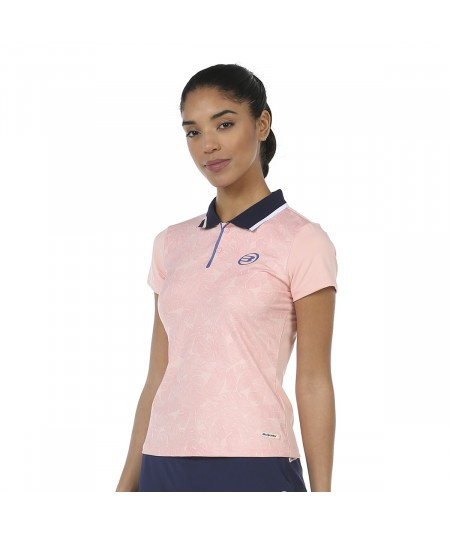 POLO BULLPADEL LOMANA ROSE