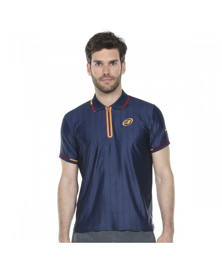 POLO BULLPADEL ALBIRES BLEU