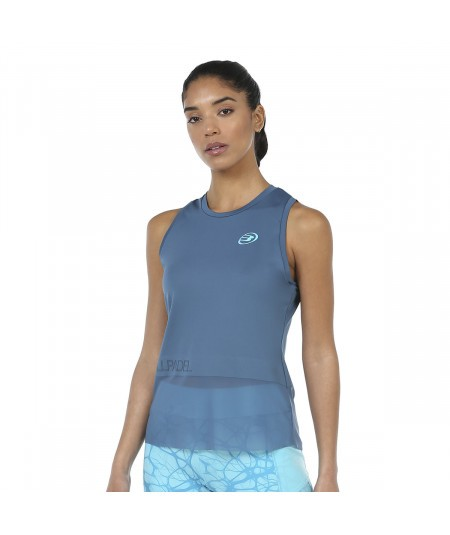 CAMISETA BULLPADEL ISOBEL AZUL