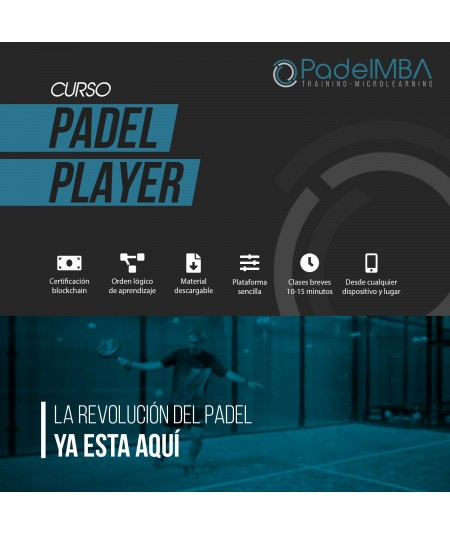 PADEL MBA PLAYER COURSE