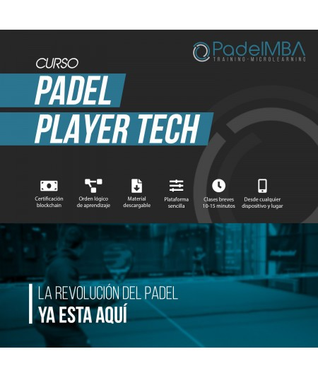 PADEL MBA PLAYER TECH