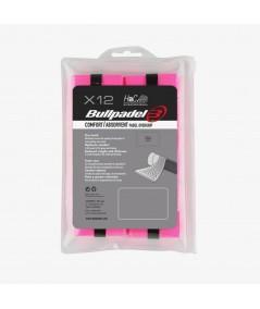 Overgrips Bullpadel GB-1601 rosa flúor
